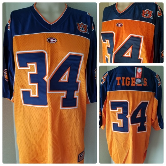 the latest 37059 e70de University of Auburn Tigers Team Jersey NCAA #34 Boutique